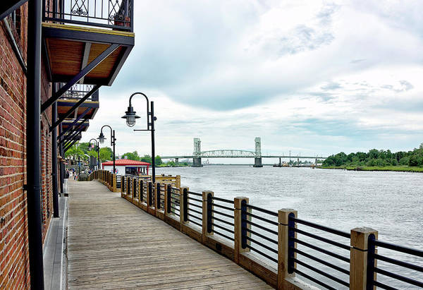 Wall Art - Photograph - Riverwalk In Wilmington North Carolina by Brendan Reals