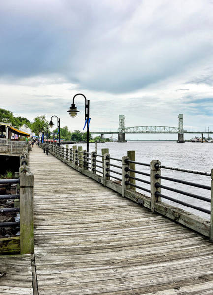 Wall Art - Photograph - Riverwalk - Wilmington North Carolina by Brendan Reals