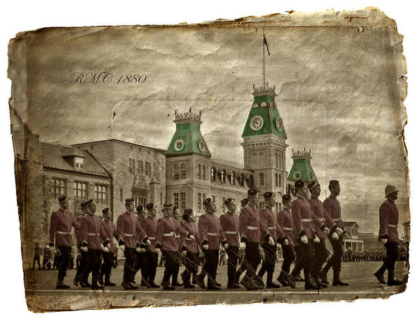 Photograph - Rmc 1880 by Doug Matthews