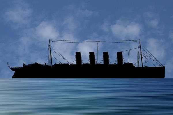 Wall Art - Photograph - Rms Lusitania 1915  V1 by Smart Aviation
