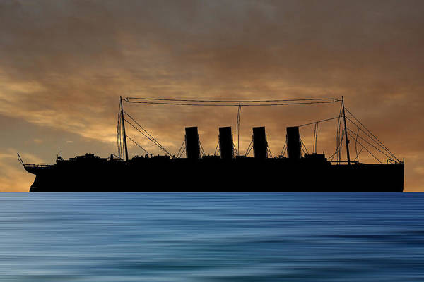 Wall Art - Photograph - Rms Lusitania 1915 V2 by Smart Aviation