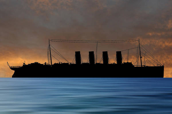Wall Art - Photograph - Rms Lusitania 1915 V3 by Smart Aviation