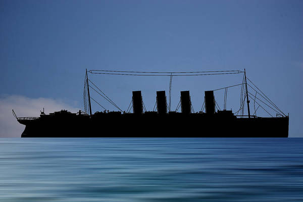 Wall Art - Photograph - Rms Lusitania 1915 V4 by Smart Aviation