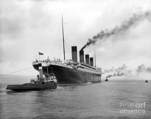 1912 Photograph - Rms Titanic by Jon Neidert