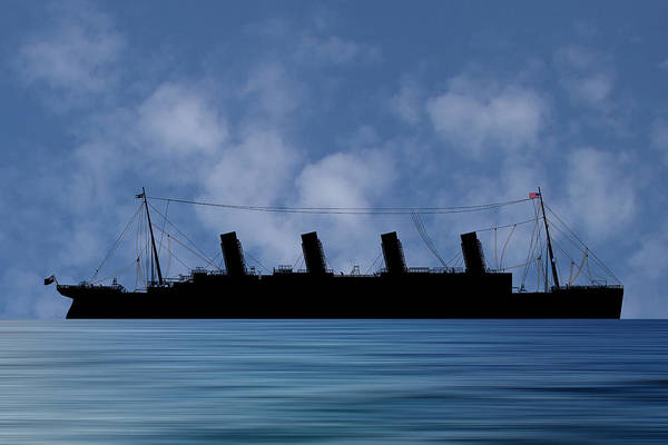 Wall Art - Photograph - Rms Titantic V1 by Smart Aviation