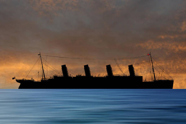 Wall Art - Photograph - Rms Titantic V3 by Smart Aviation