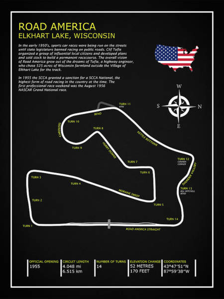Wall Art - Photograph - Road America Circuit by Mark Rogan