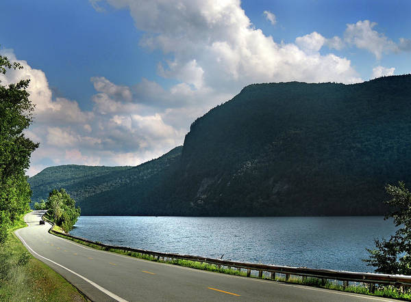 Photograph - Road Around Lake Willoughby State Park by Nancy Griswold
