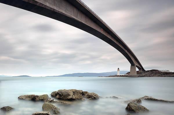 Photograph - Road Bridge Rocks by Grant Glendinning