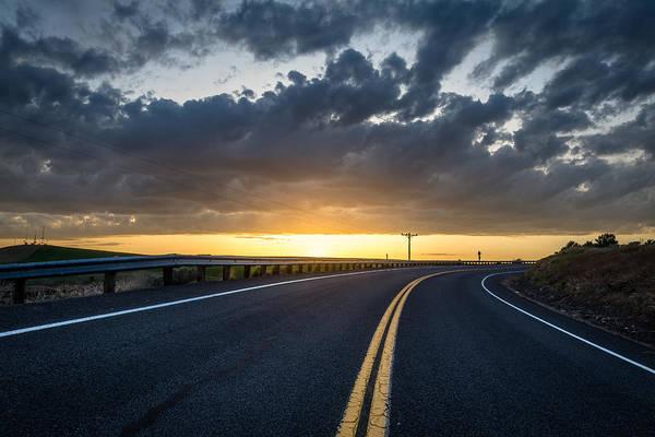 Lewiston Photograph - Road Home by Brad Stinson