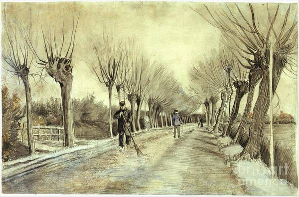 Painting - Road In Etten by Celestial Images