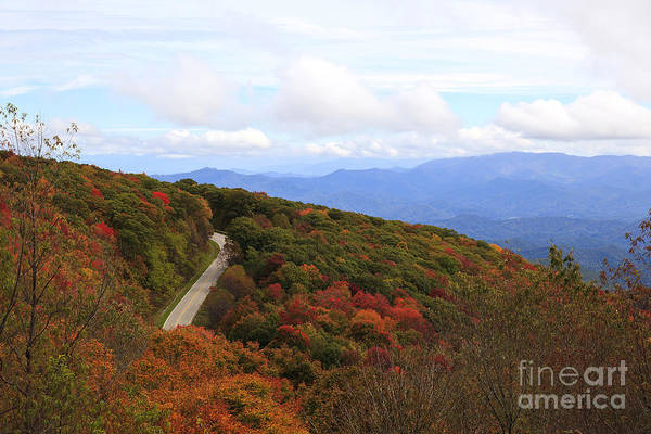 Photograph - Road In The Mountains by Jill Lang
