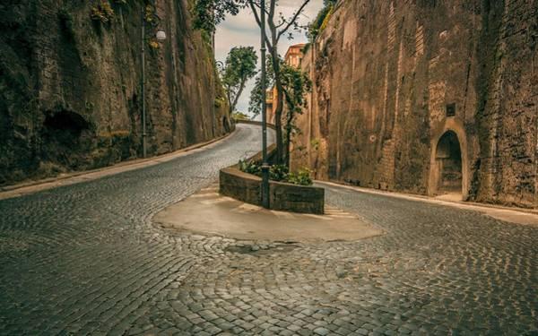 Landscape Digital Art - Road by Maye Loeser