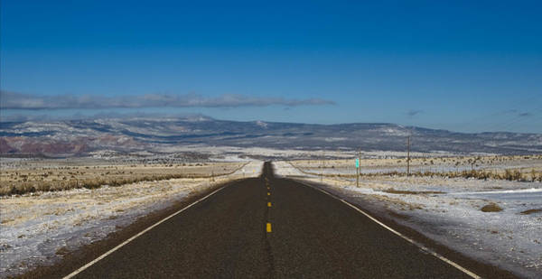 Photograph - Road Nm 96 by Lou  Novick
