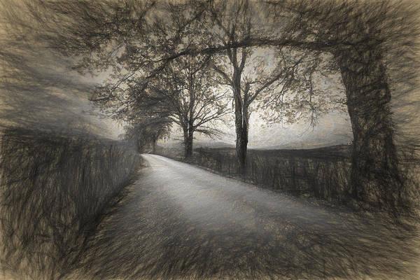 Digital Art - Road Not Traveled Iv by Jon Glaser