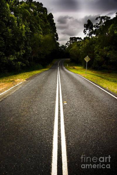 Straight Ahead Wall Art - Photograph - Road by Jorgo Photography - Wall Art Gallery