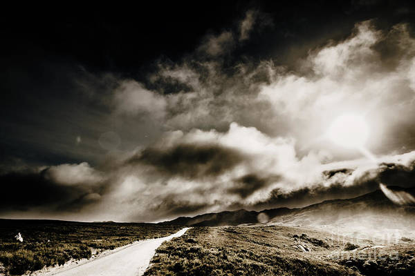 Expanse Photograph - Road Storm by Jorgo Photography - Wall Art Gallery