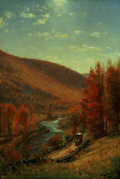 Turning Painting - Road Through Belvedere by Thomas Worthington