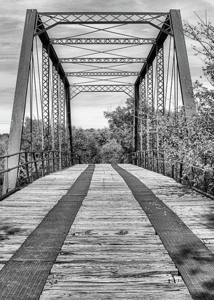 Wall Art - Photograph - Road To Abilene In Black And White by JC Findley