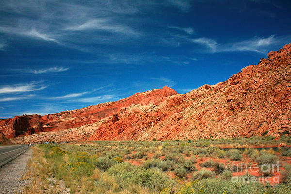 Wall Art - Painting - Road To Arches National Park by Corey Ford
