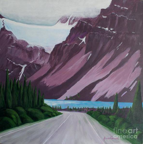 Painting - Road To Banff by Alicia Fowler