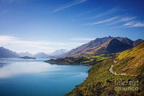 Photograph - Road To Glenorchy by Scott Kemper