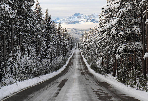 Photograph - Road To Grand Tetons by Pierre Leclerc Photography