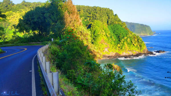 Ocean Wall Art - Photograph - Road To Hana - Hawaii by Michael Rucker