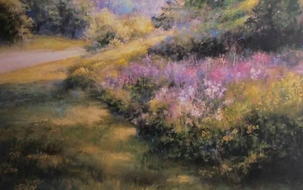 Pastel - Road To Hibernia by Bill Puglisi