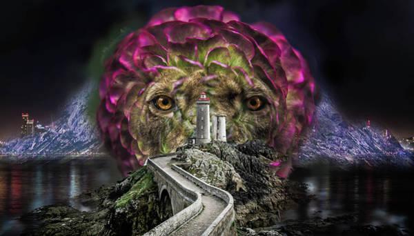 Mountain Lion Digital Art - Road To Kingdom by Britten Adams