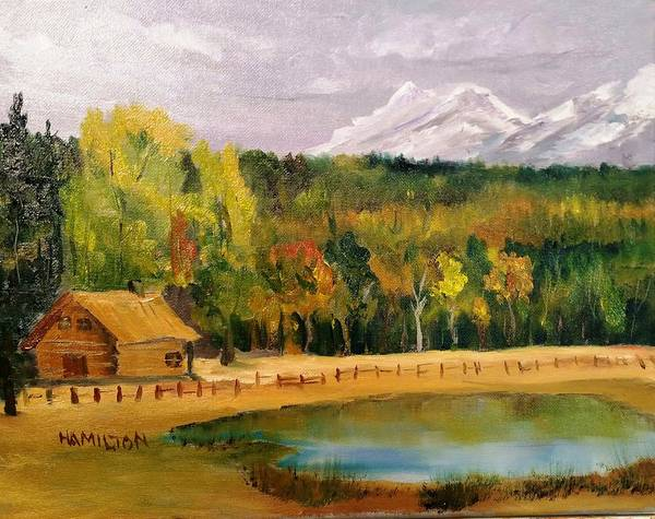 Painting - Road To Kintla Lake by Larry Hamilton