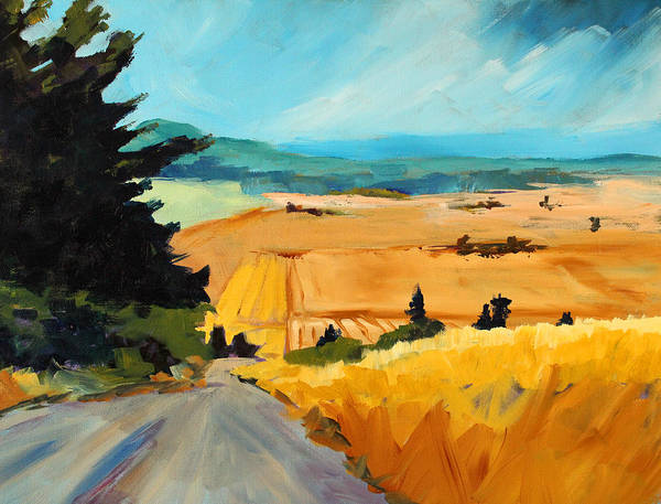 Wall Art - Painting - Road To Madras by Nancy Merkle