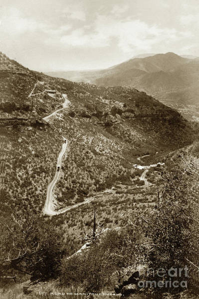 Photograph - Road To Manitou Caverns, Colorado, Circa 1890 by California Views Archives Mr Pat Hathaway Archives