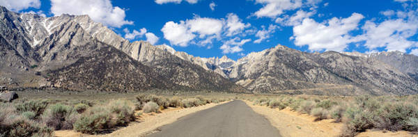 Inyo Mountains Photograph - Road To Mount Whitney, Lone Pine by Panoramic Images
