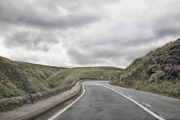 English Countryside Photograph - Road To Nowhere by Martin Newman