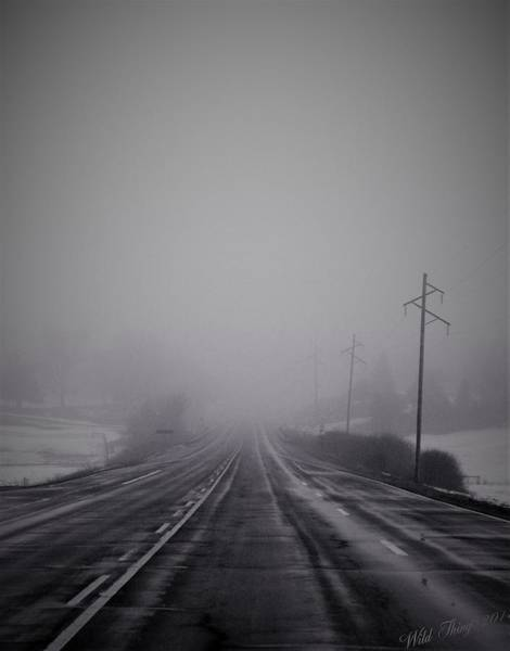 Photograph - Road To Nowhere by Wild Thing