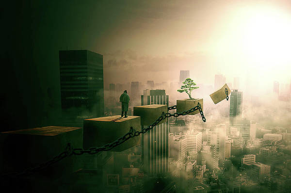 Wall Art - Digital Art - Road To Recovery  by Nathan Wright