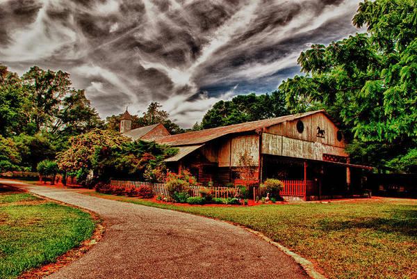 Road To Shiloh Farm's Barn Art Print