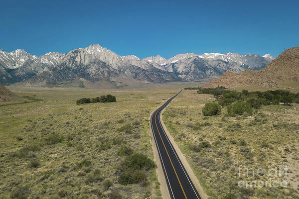 Sierra Nevada Mountain Range Photograph - Road To Sierra  by Michael Ver Sprill