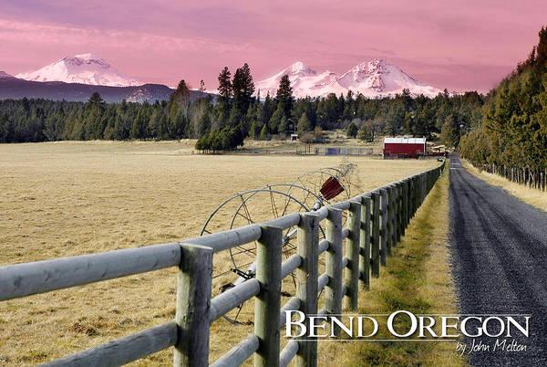 Wall Art - Photograph - Road To The Cascades - Bend, Oregon by John Melton