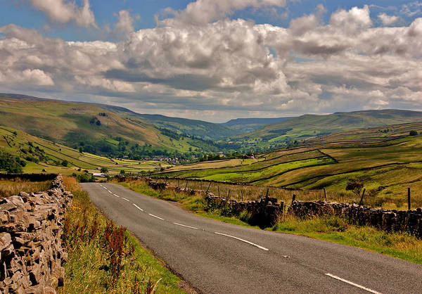 Wall Art - Photograph - Road To The Dales by Trevor Kersley