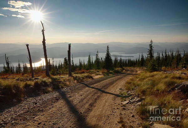 Wall Art - Photograph - Road To The Lake by Idaho Scenic Images Linda Lantzy