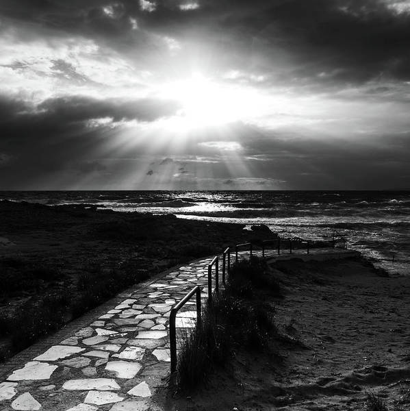 Wall Art - Photograph - Road To The Light by Stelios Kleanthous