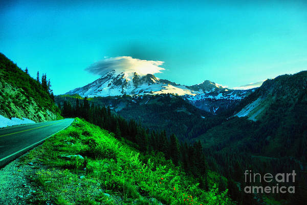 Wall Art - Photograph - Road To The Mountain  by Jeff Swan
