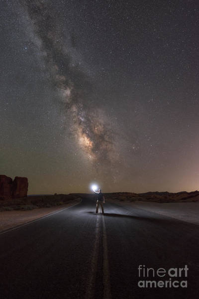 Photograph - Hitchhike To The Galaxy by Michael Ver Sprill