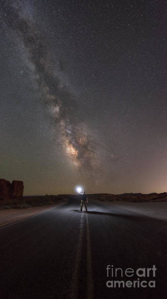 Photograph - Hitchhike To The Galaxy Panorama by Michael Ver Sprill