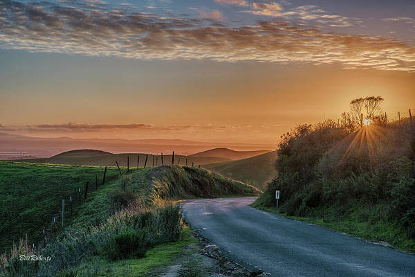 Wall Art - Photograph - Road To The Sunset by Bill Roberts