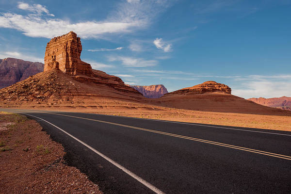 Photograph - Road To Vermilion Cliffs by Shara Weber