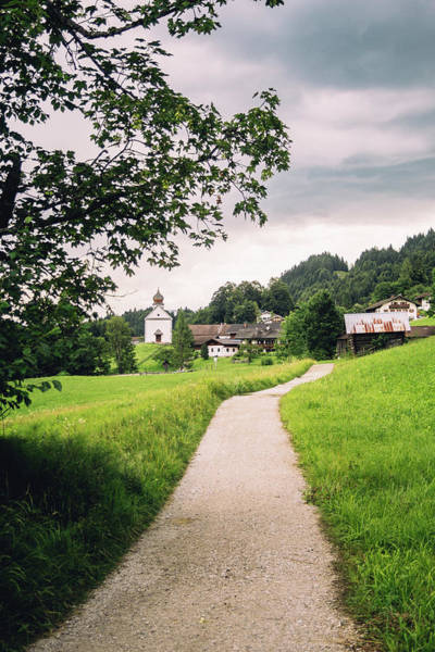 Wall Art - Photograph - Road To Wamberg German Alps by Pati Photography