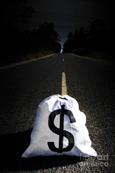 Photograph - Road To Wealth And Financial Gain by Jorgo Photography - Wall Art Gallery